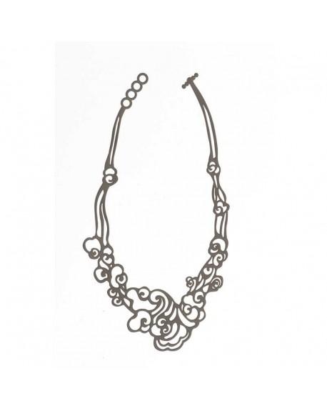 Collar Cloud Necklace